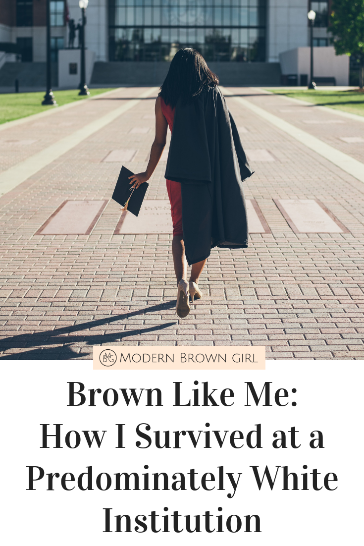 Brown Like Me: How I Survived at a Predominately White Institution