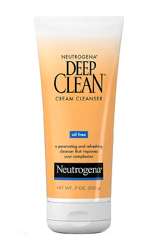 1. Neutrogena Deep Clean Cleanser - I love this product because it's cheap and it really works for my skin.