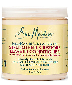 3. Shea MoistureJamaican Black Castor Oil - My curly hair is prone to dryness. This product is thick and helps to moisturize my hair.