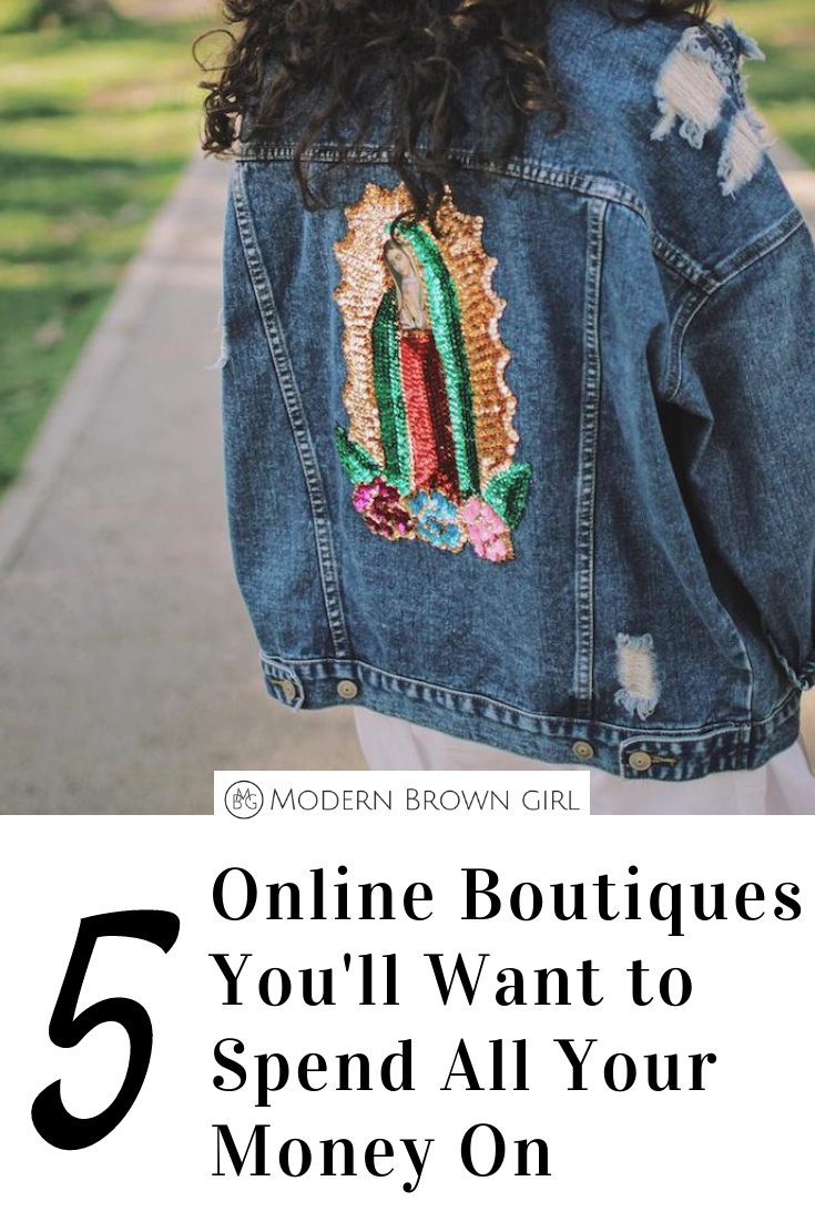 Online Boutiques You'll Want to Spend All Your Money On - Modern Brown Girl