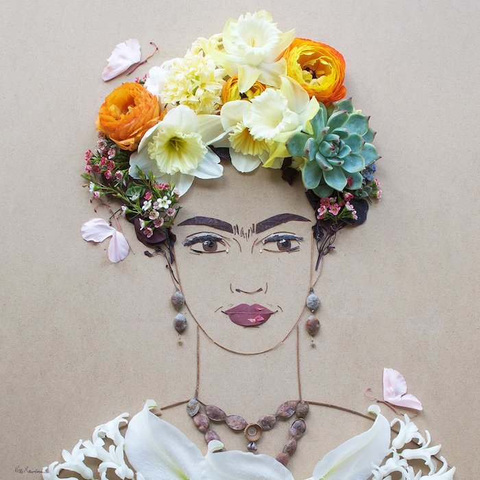You'll Love: - Frida Flower Print, $35