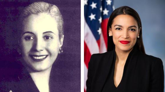 Why Alexandria Ocasio-Cortez is This Generation's Eva Perón