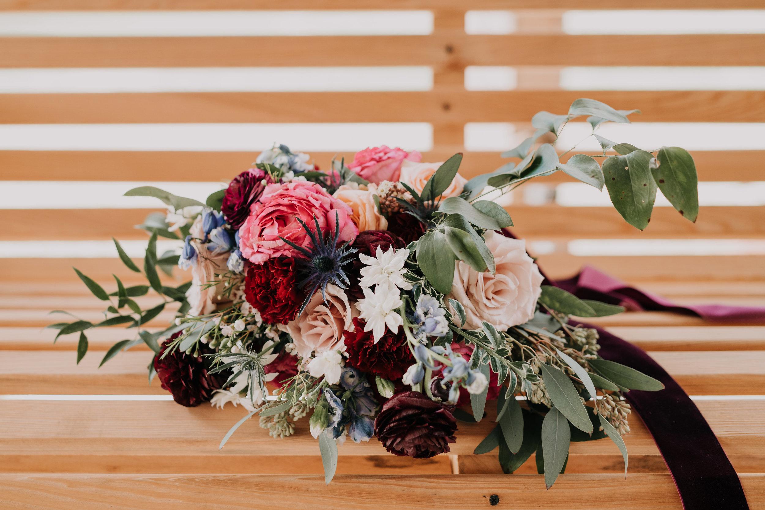 bouquet on a bench.jpg