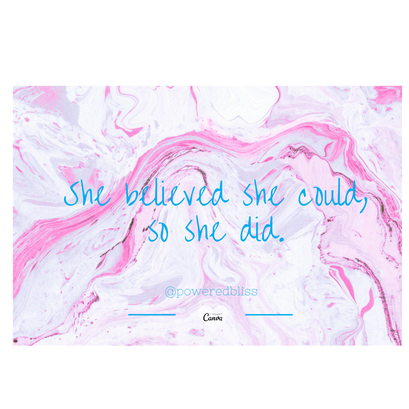 She believed....png