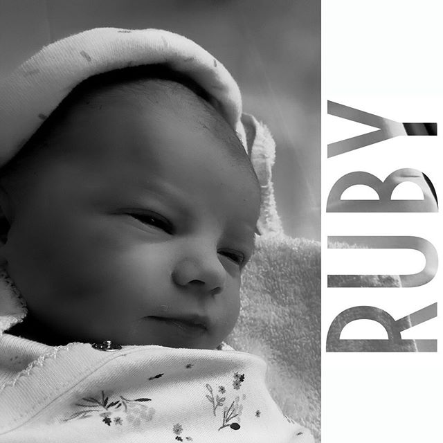 Myself and bonnie were surprised last weekend when our little Ruby arrived a couple of weeks early. She is beautiful such good times ahead for us, I feel very lucky to be a dad. #newborn #baby #newdad
