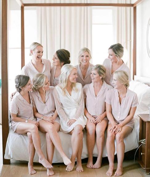 Laurel II Pajama Short Set   bride: @merefrazier / photog: @julielivingstonphotography