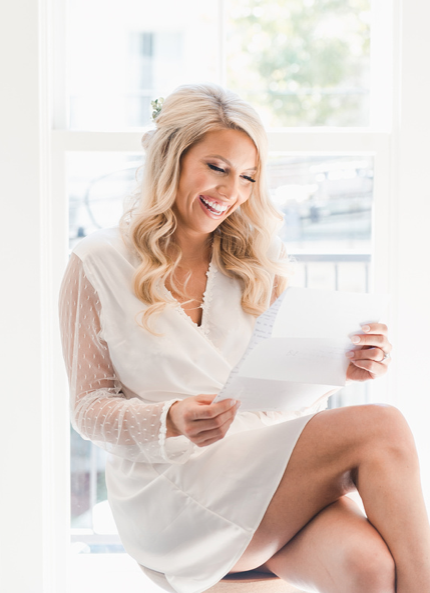 Showstopper Wrap Robe   bride: @bizzyexploring / photog: @catherineguidry