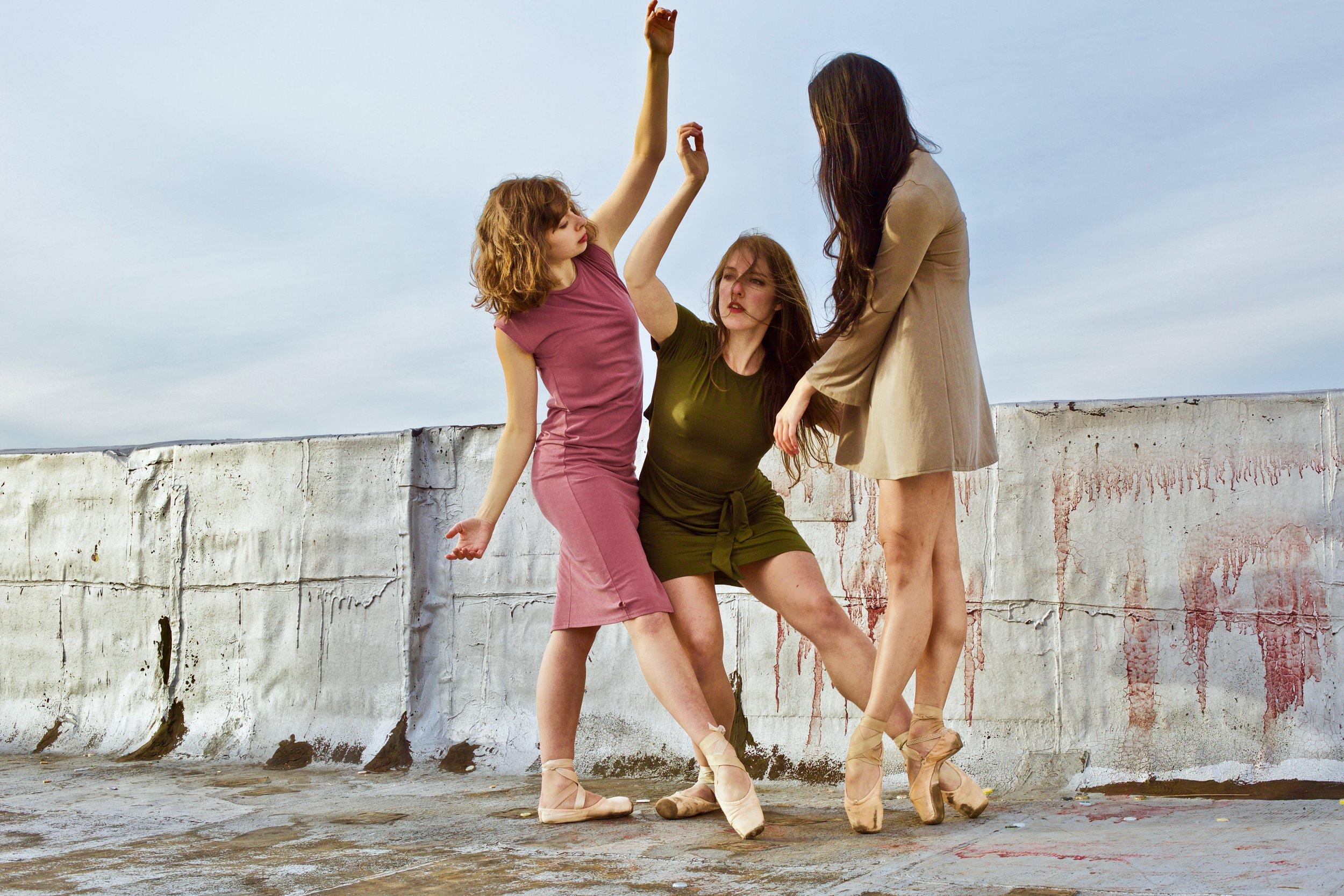 Jordan Miller, Amy Saunder, Tiffany Mangulabnan