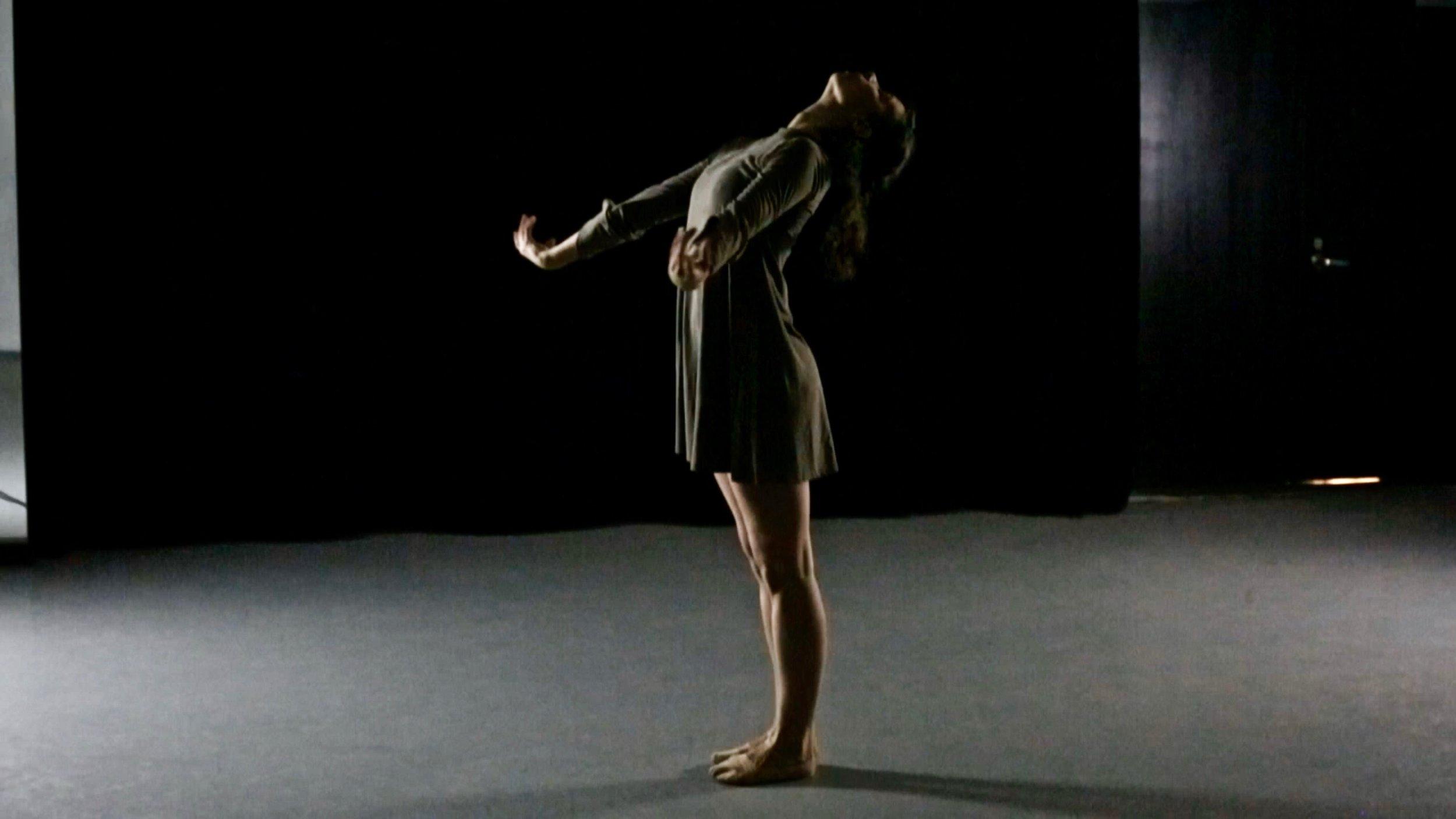 Jordan Miller in konverjdans' 'Suite: Megg' at Gibney Dance Center