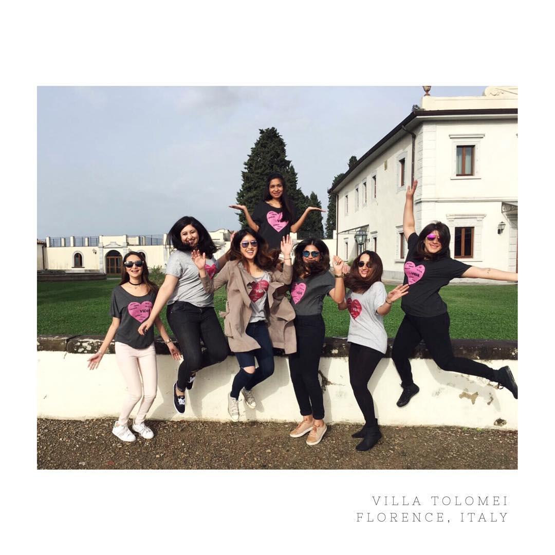 villa tolomei bachelorette girls