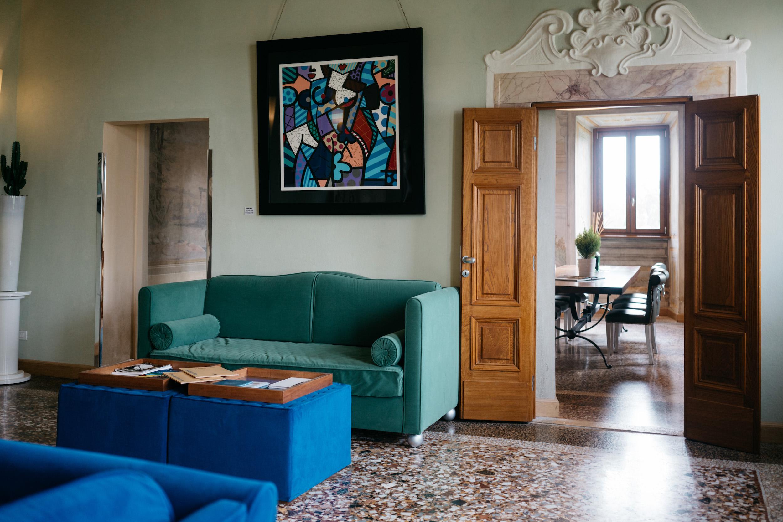 villa tolomei florence italy