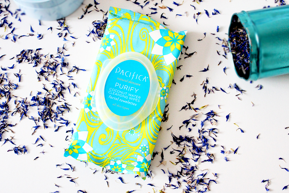 Pacifica Coconut Facial Wipes Natural Beauty