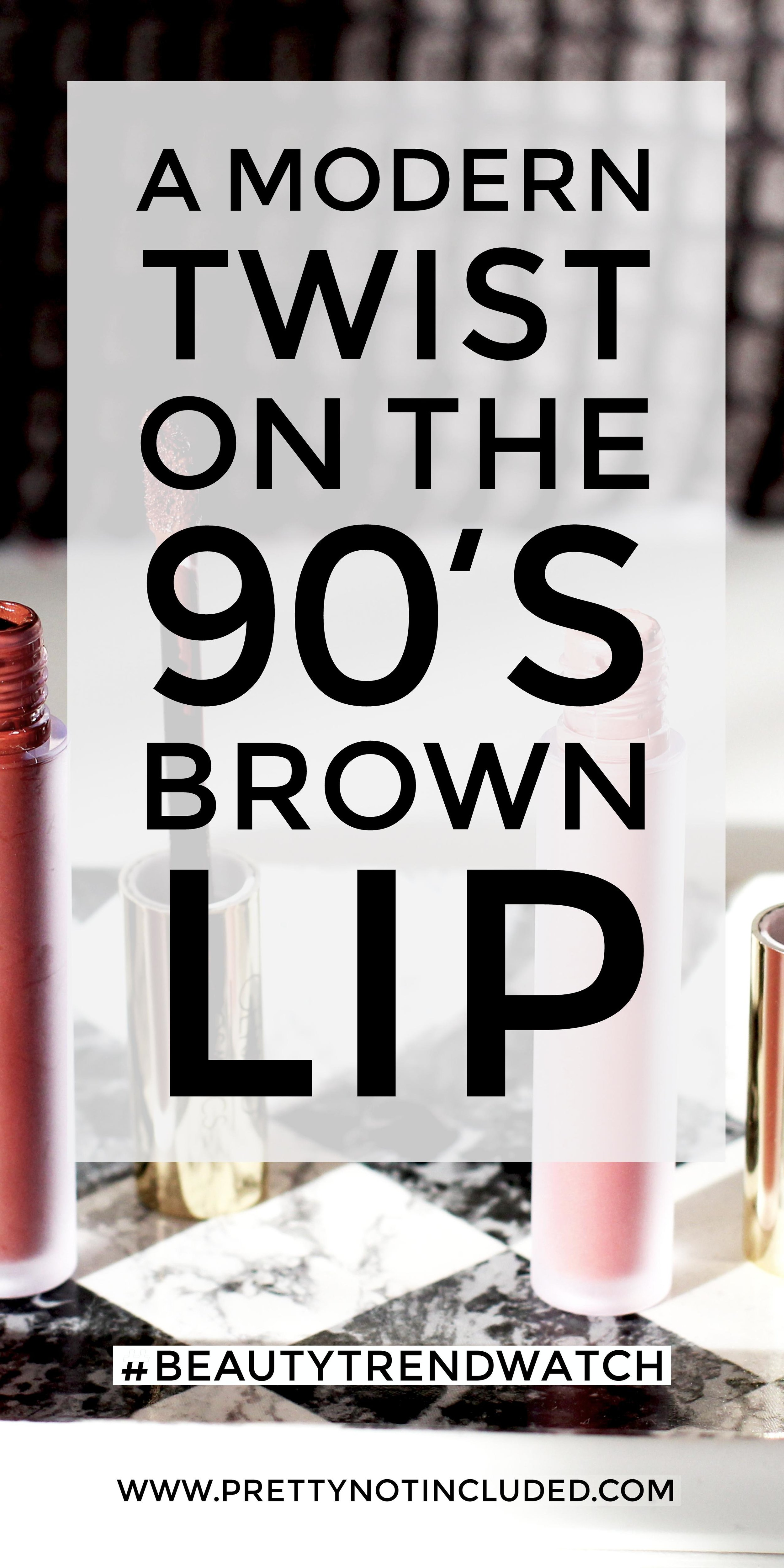 A modern twist on the 90's brown lip trend trend with these matte liquid lipsticks from Gerard Cosmetics. Swatches included.