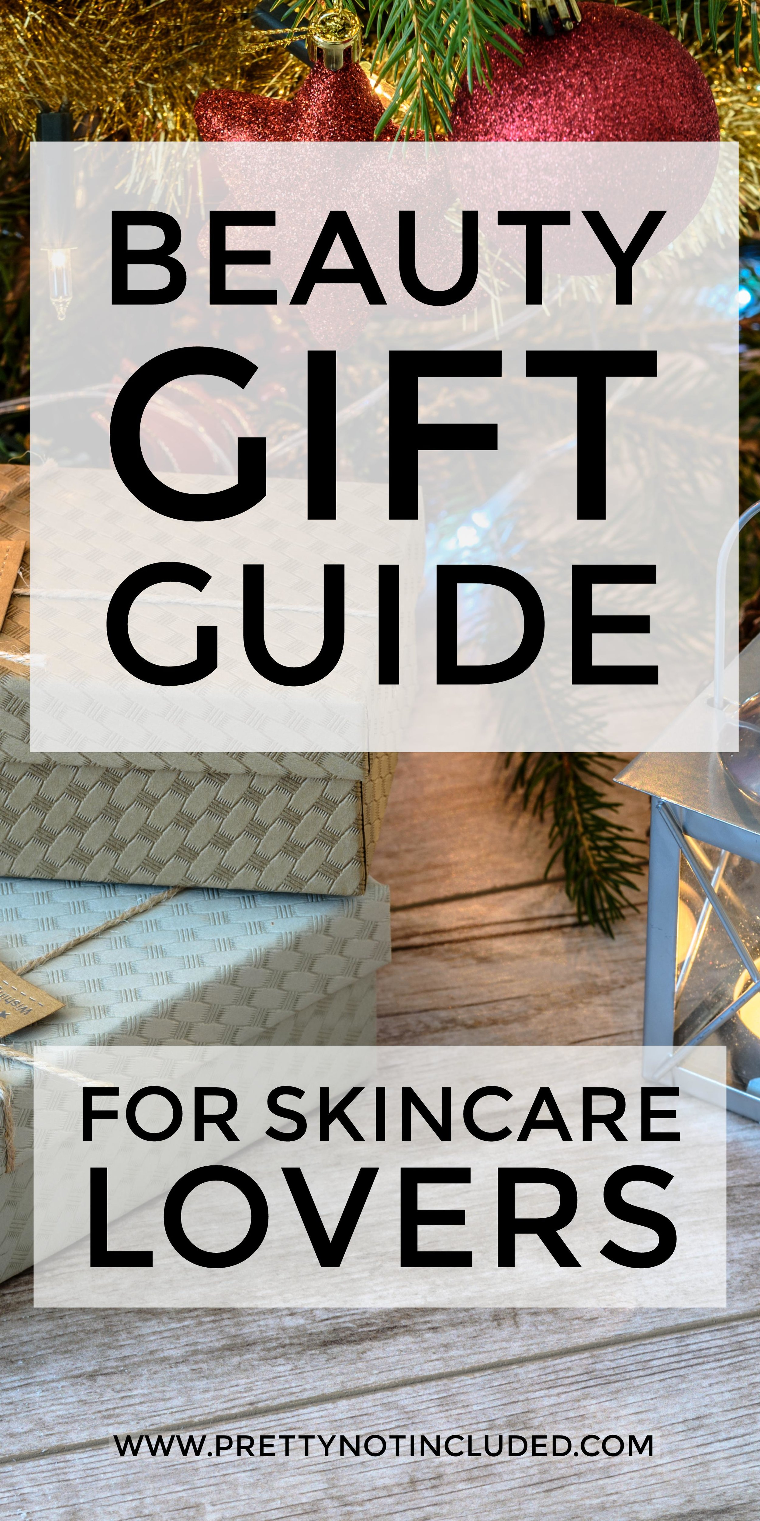 The Gift Guide For Skincare Lovers. Everything from stocking fillers and secret Santa options to the most luxury of skincare offerings.