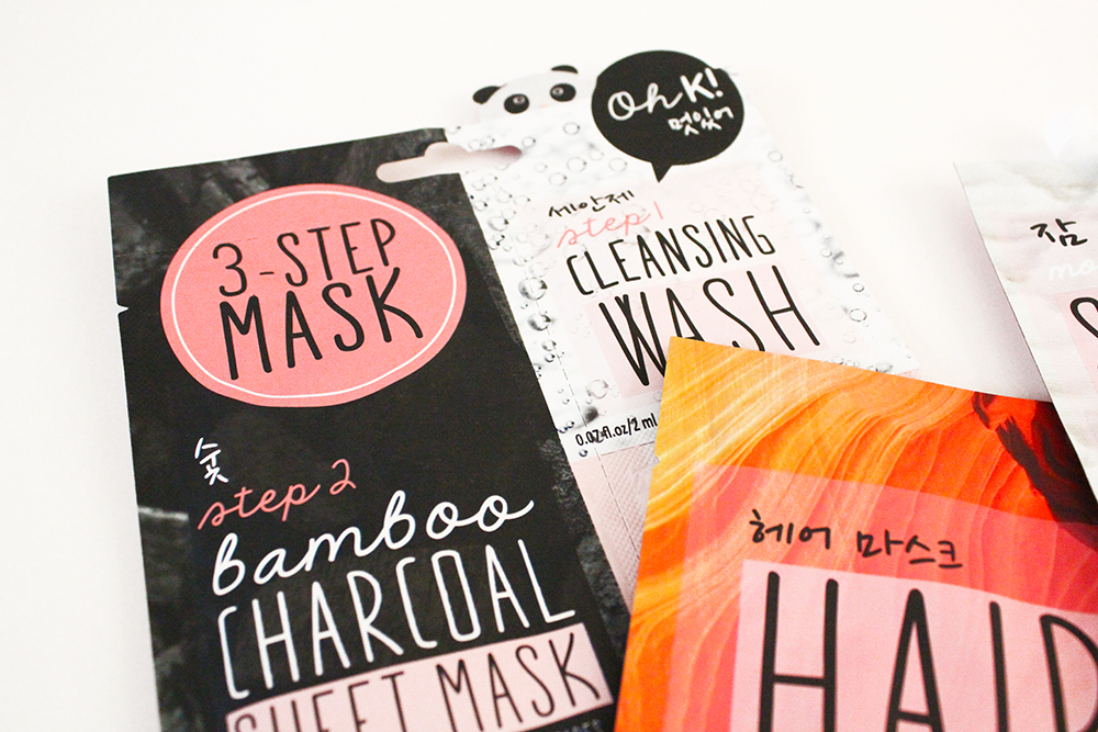 Super Adorable Korean Inspired Skincare From OH K! 3 Step Bamboo Step Mask ASOS Exclusive