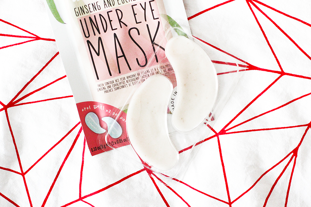 Super Adorable Korean Inspired Skincare From OH K! Under Eye Gel Patches