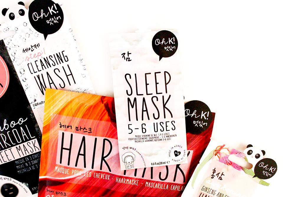 Super Adorable Korean Inspired Skincare From OH K! Overnight Sleep Mask