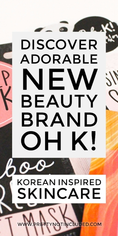 Super Adorable Korean Inspired Skincare From OH K! Featuring sheet masks, patches, sleep masks and ASOS exclusives.