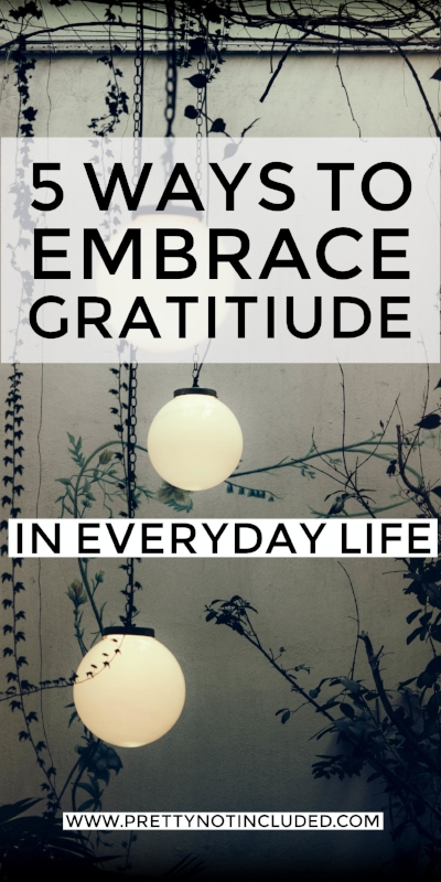 Ways to embrace gratitude in everyday life and refresh our attitudes for a positive and tolerant approach.A different take on new year's resolutions.