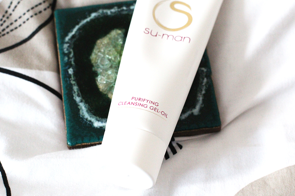 A Beautifully Simple Skin Ritual With Su-Man Skincare - Purifying Cleansing Gel-Oil
