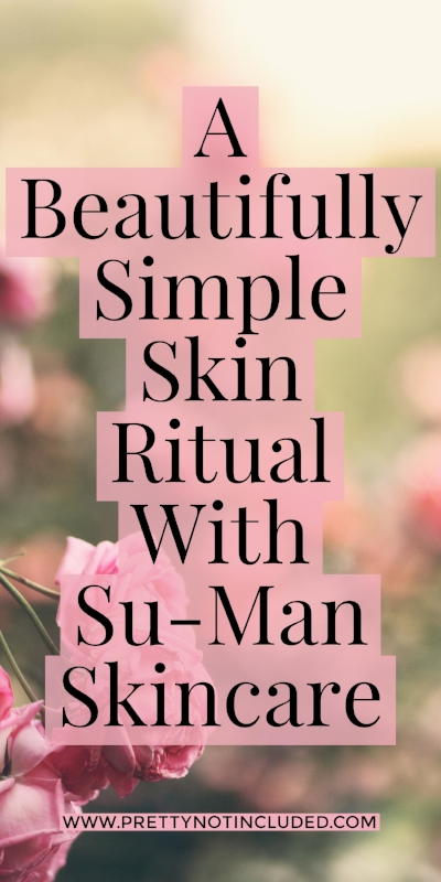 A beautifully simple and minimalist skincare ritual with the luxury curated edit from Su-Man Skincare. Created by Su-Man, former professional dancer and highly acclaimed celebrity facialist. A cleanser and essence that will transform your skin and make you fall back in love with your skincare routine.
