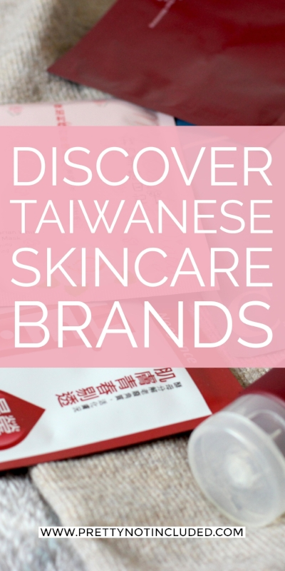 Discovering Taiwanese Skincare Brands packed with innovation. Sheet masks to try and a run down on Naruko's Raw Job's Tears line.