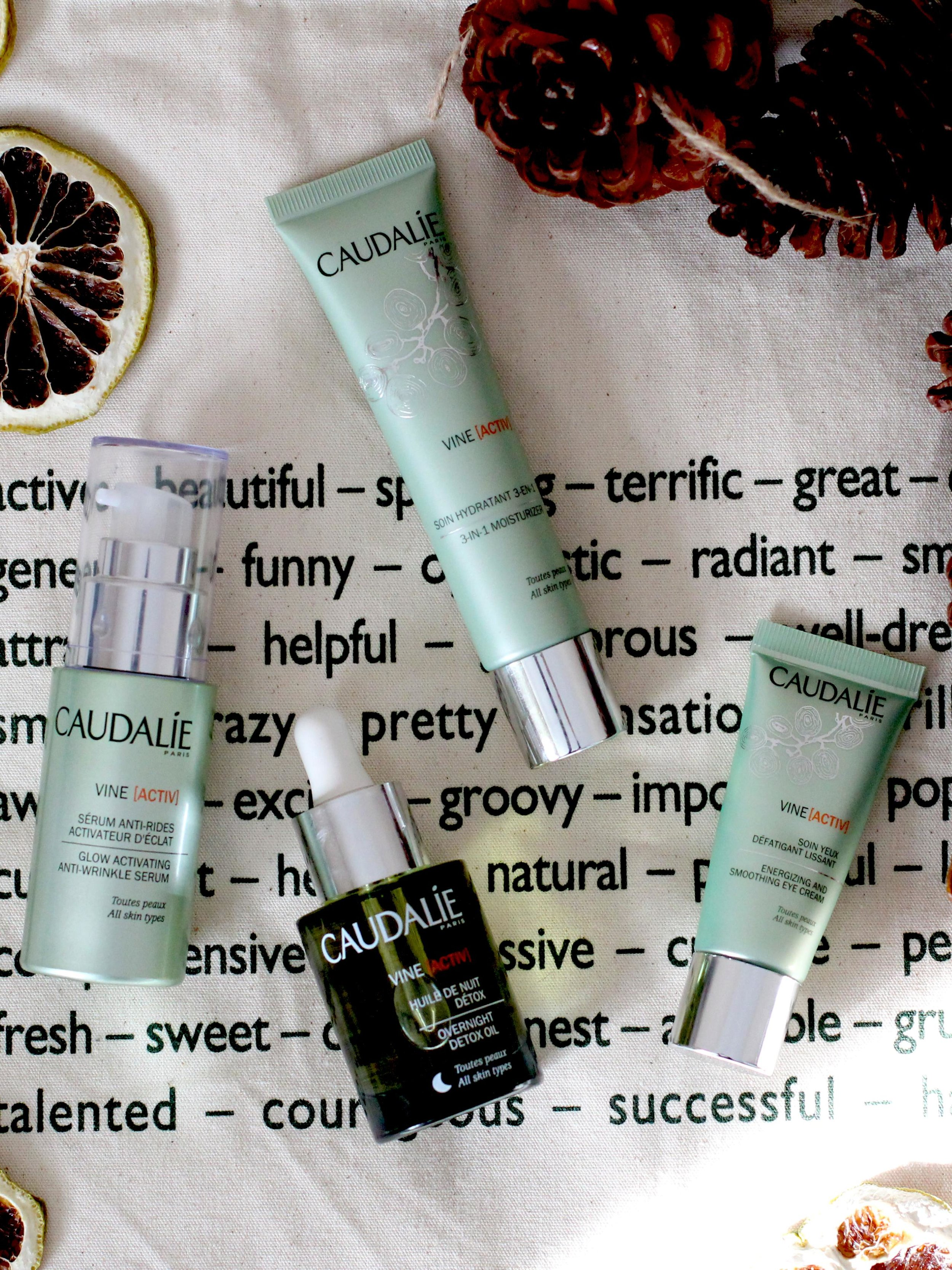 Caudalie's New Vine Activ Skincare Range Blends Into Your Busy Lifestyle