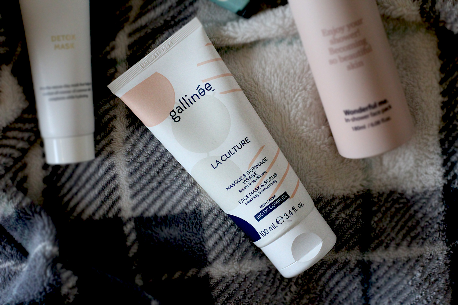 Four Amazing Face Masks From Brands You May Not Have Heard Of | Gallinee face mask and scrub