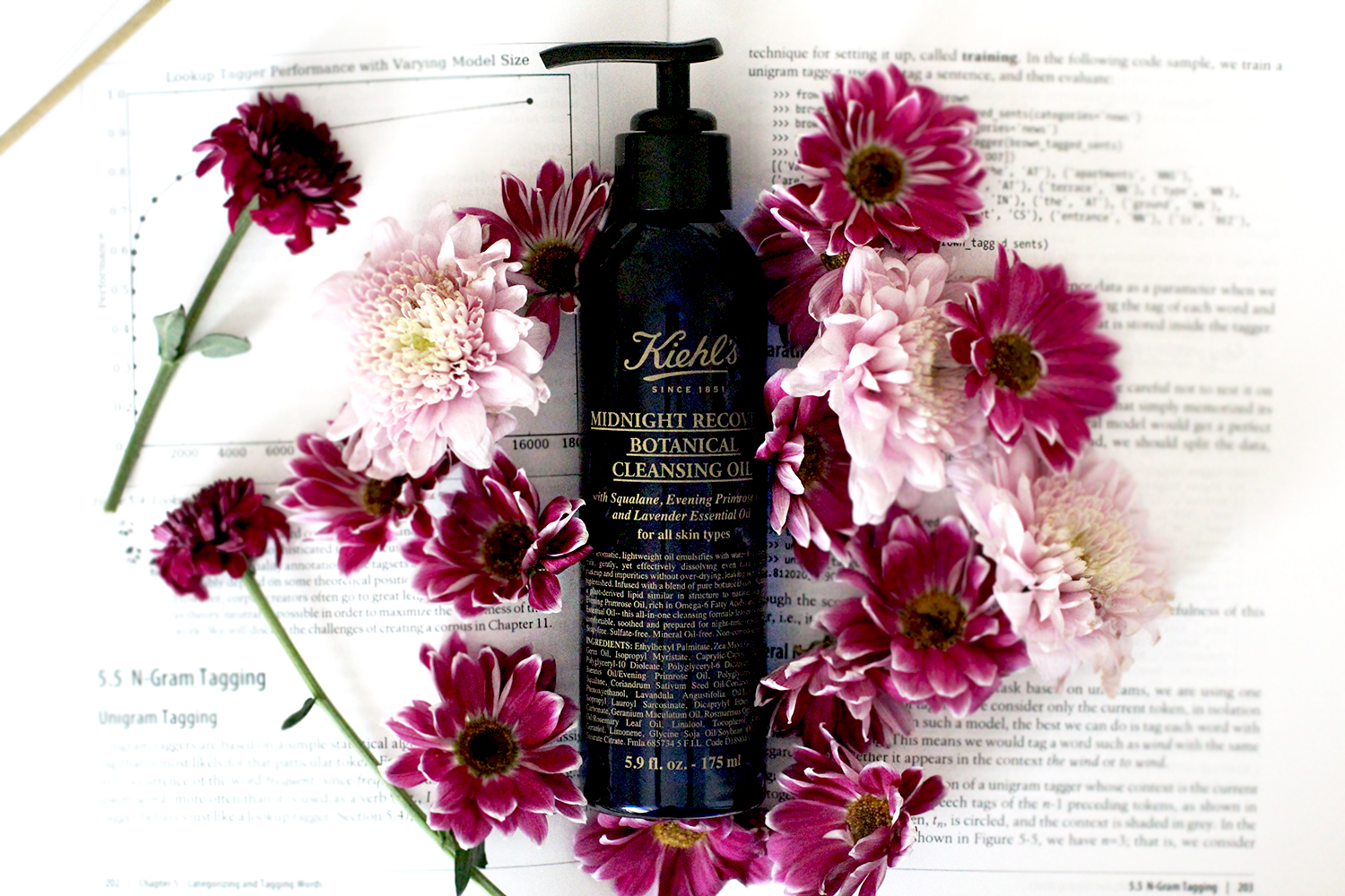kiehls midnight recovery cleansing oil