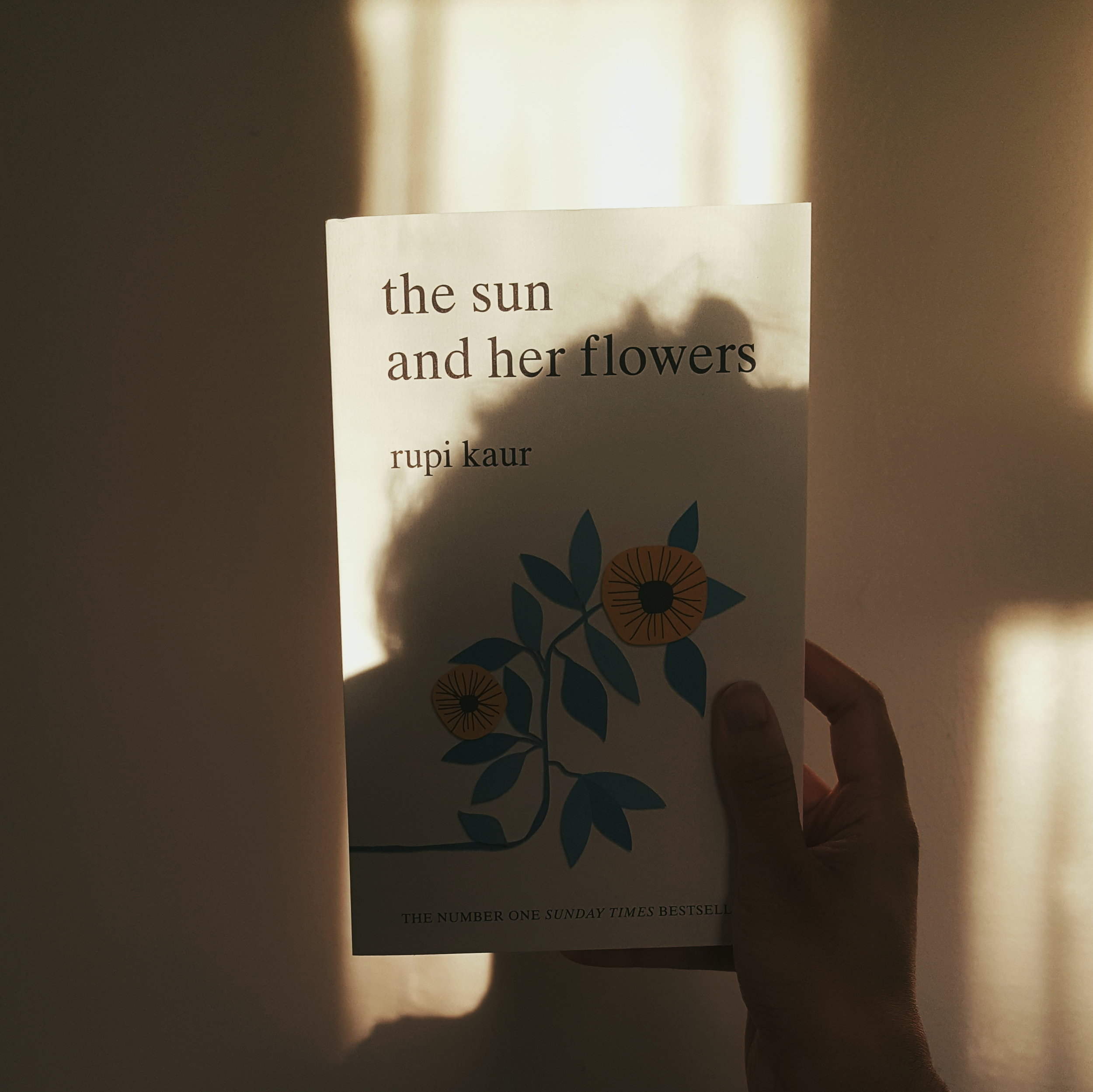 The sun and her flowers by Rupi Kaur - Something poetic to indulge in over a cup of tea.