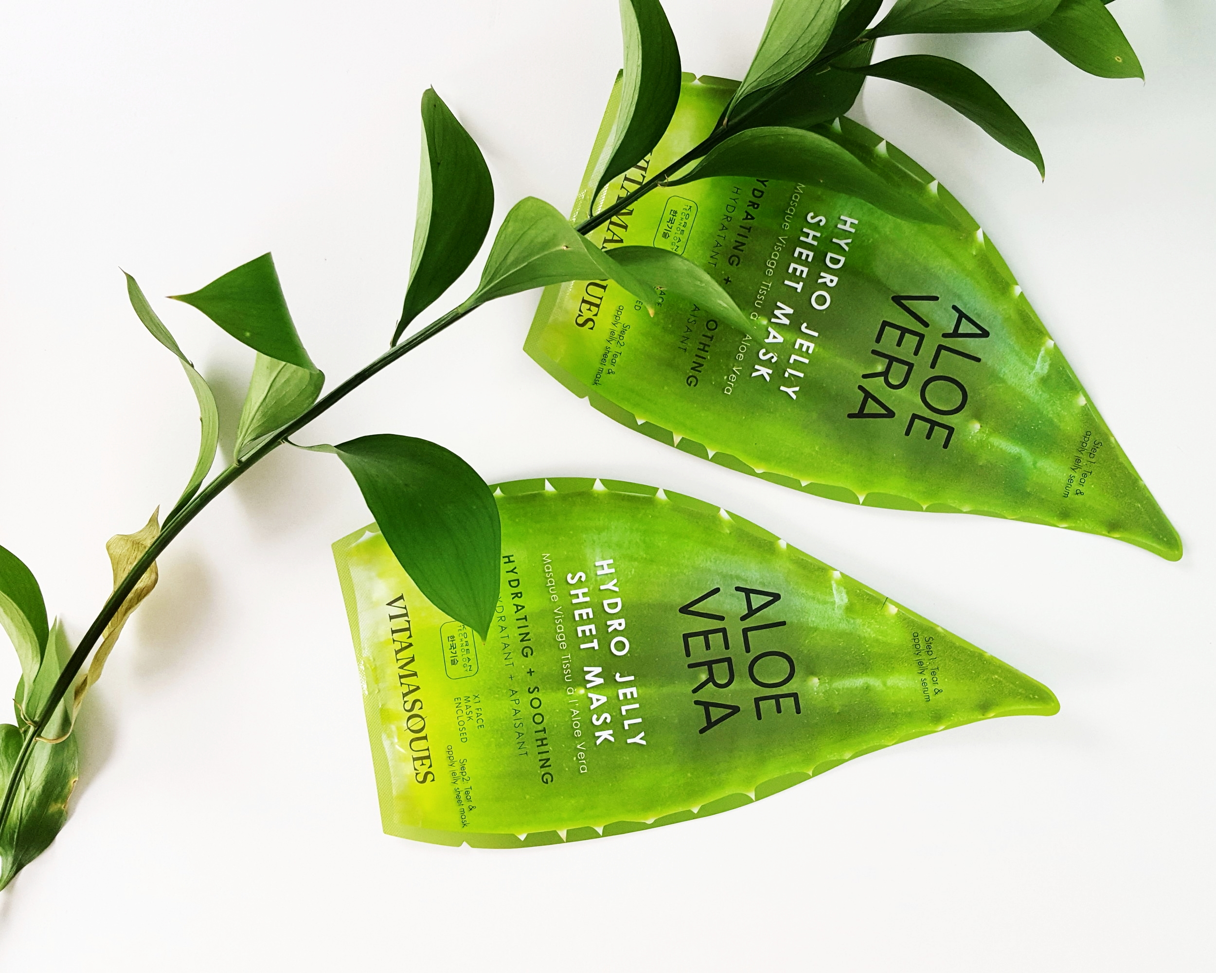 Vitamasques Aloe Vera Jelly Mask