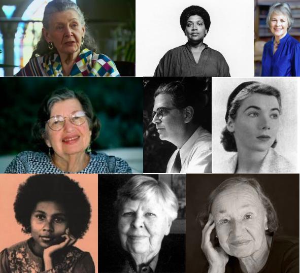 Marion Woodman; Audre Lorde; Ann Ulanov; June Singer; Erich Neumann; Claire Douglas; bell hooks; Helen Luke; Christine Downing.