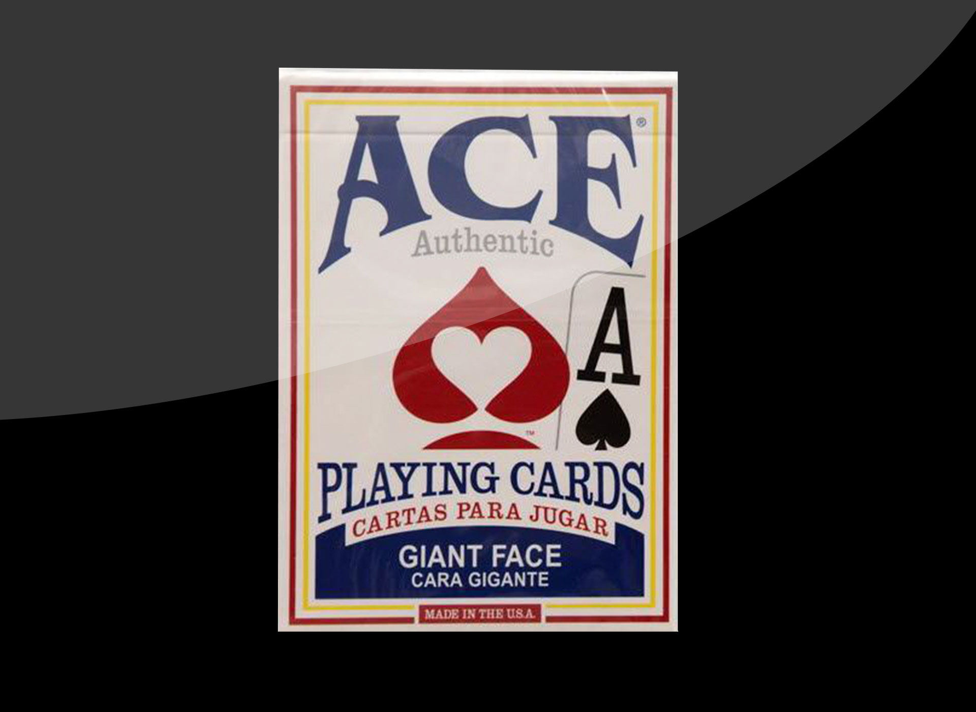 Giant playing cards