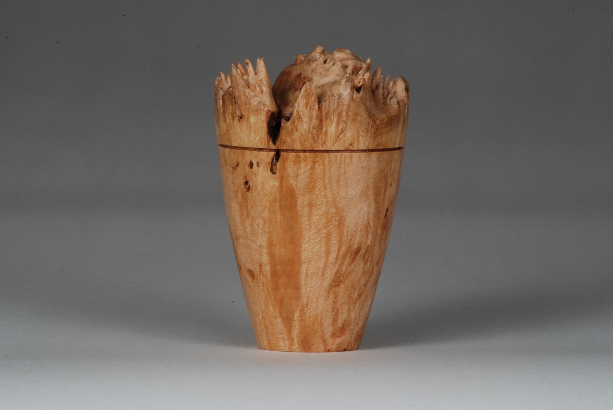 Natural Edge Maple Box