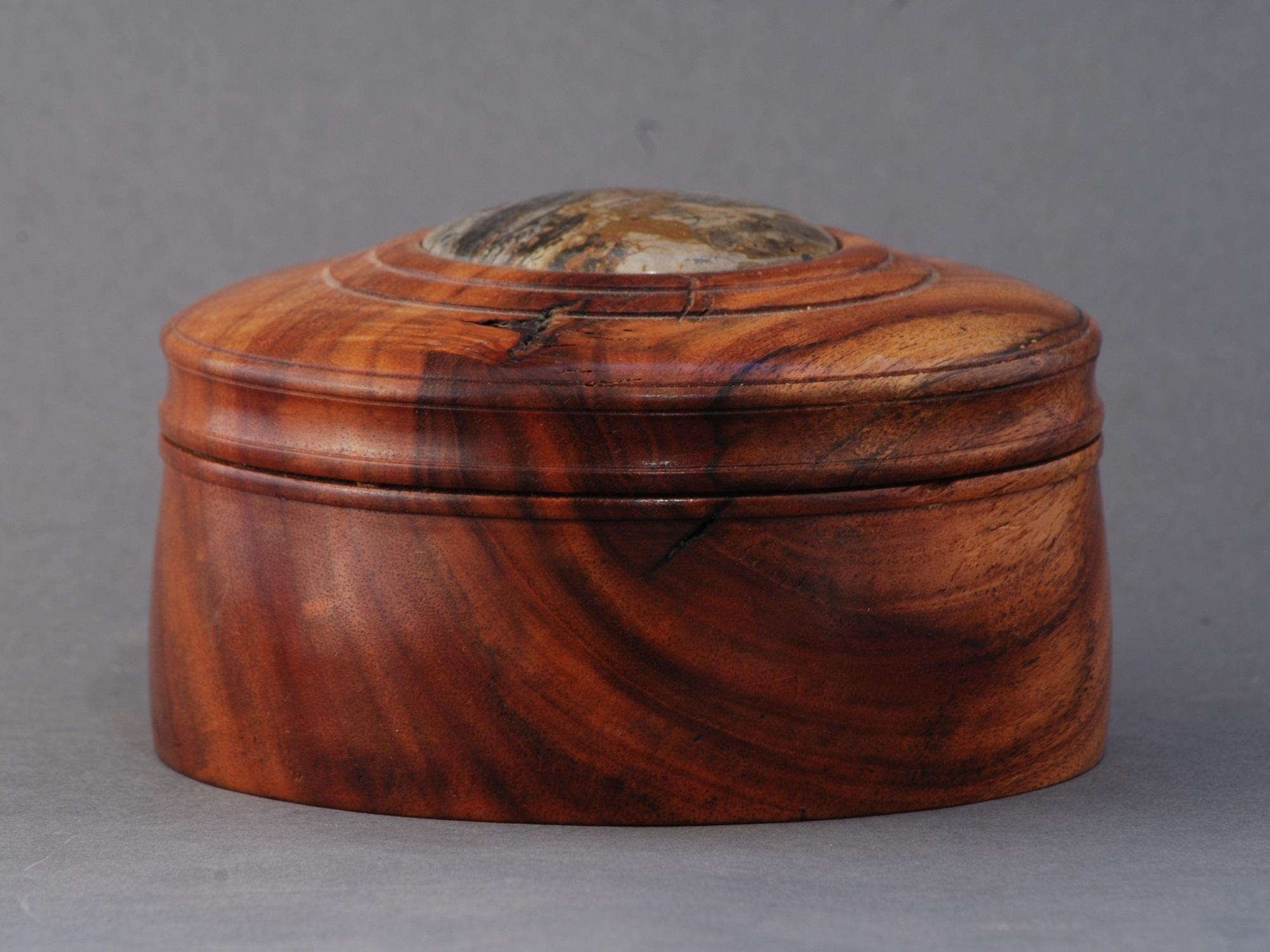 Carob Wood Box