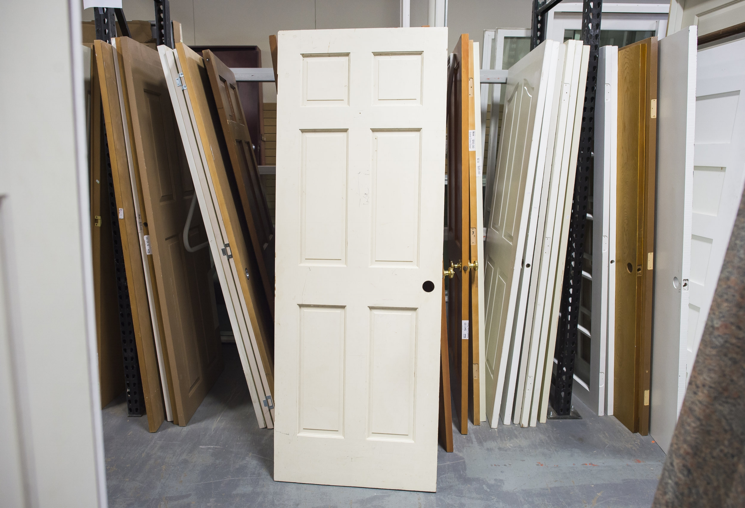 DOORS & WINDOWS   We carry both interior and exterior doors as well as exterior windows. You can also find installation hardware at all of our Habitat stores to help with your project.