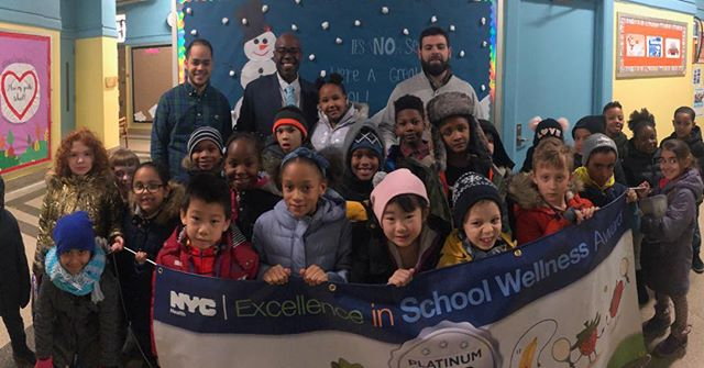 @NYCSchools @PS125M @District5NYC We are Platinum Excellence in School Wellness Winners! #joy #pride #focused