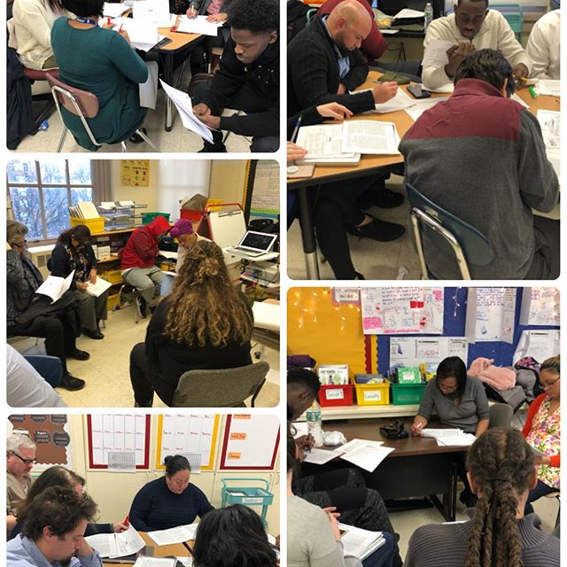 @ps125m Monday PD on Developing Academic Discourse as evidenced by Danielson Component 3b