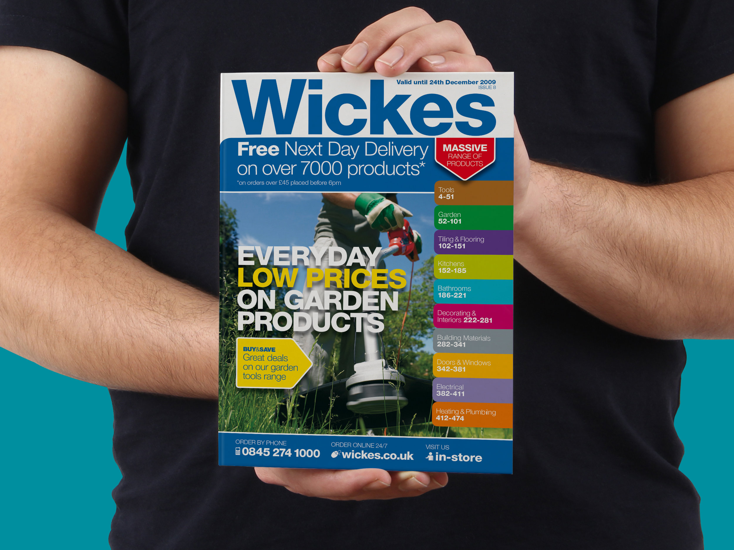 Wickes Catalogue Template