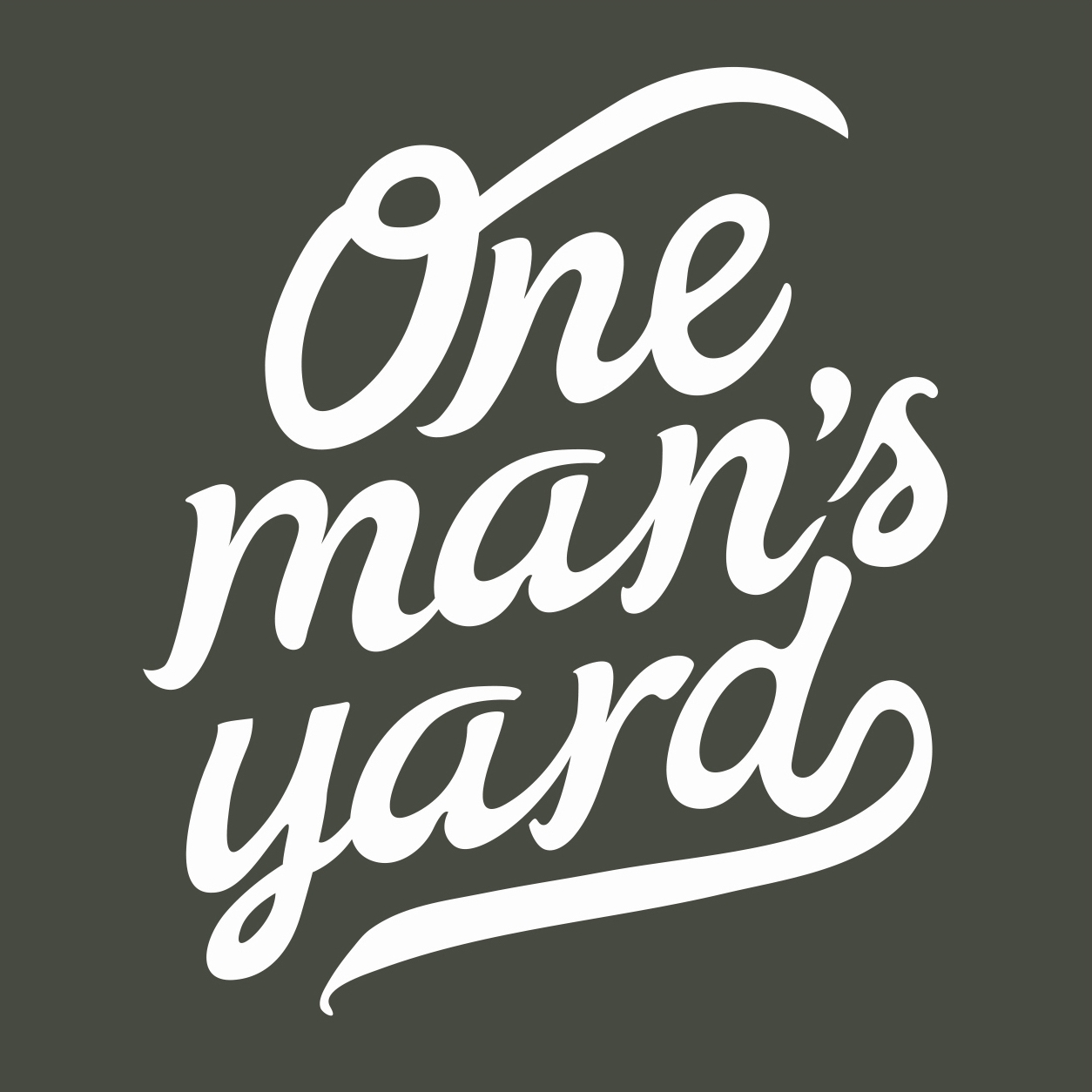 One Man's Yard
