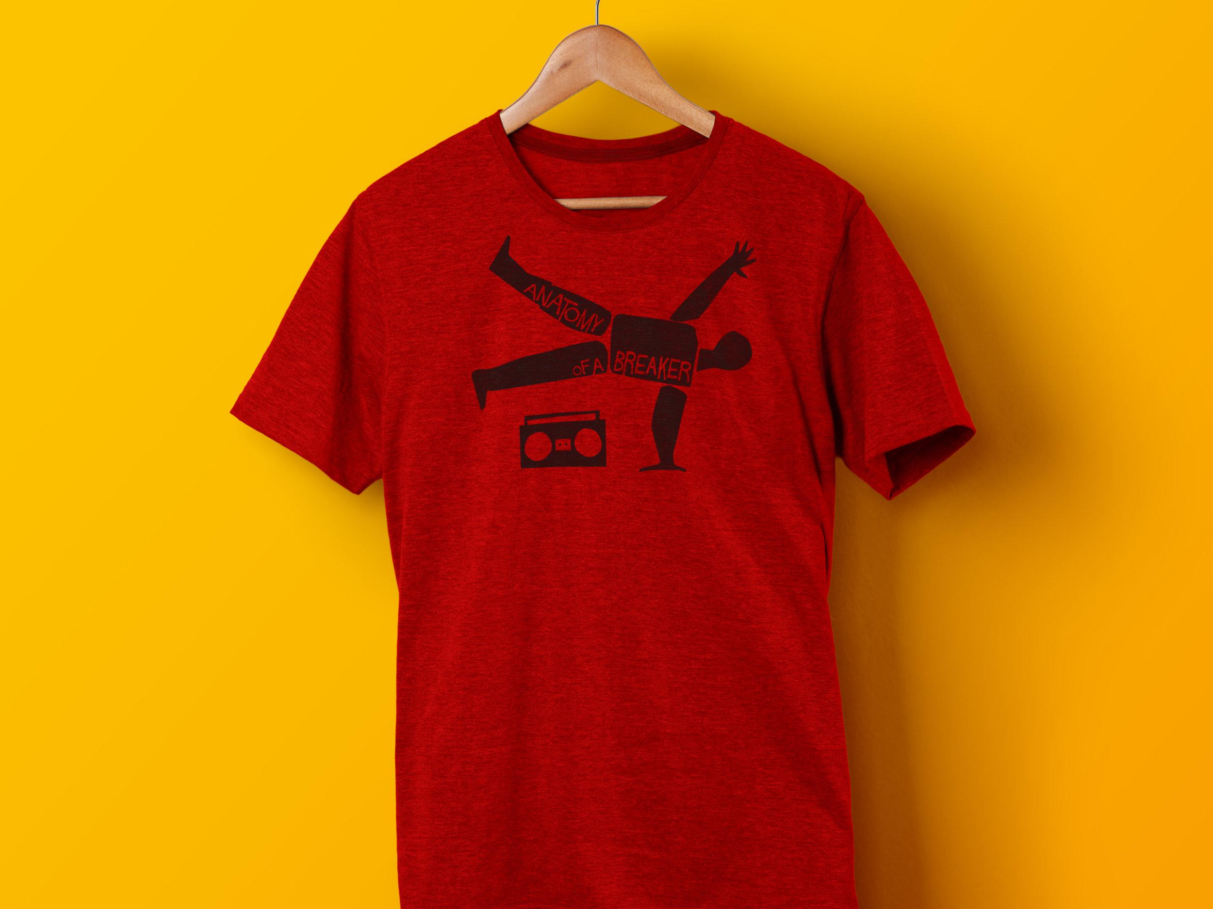 Saul Bass Tribute T-shirt Design