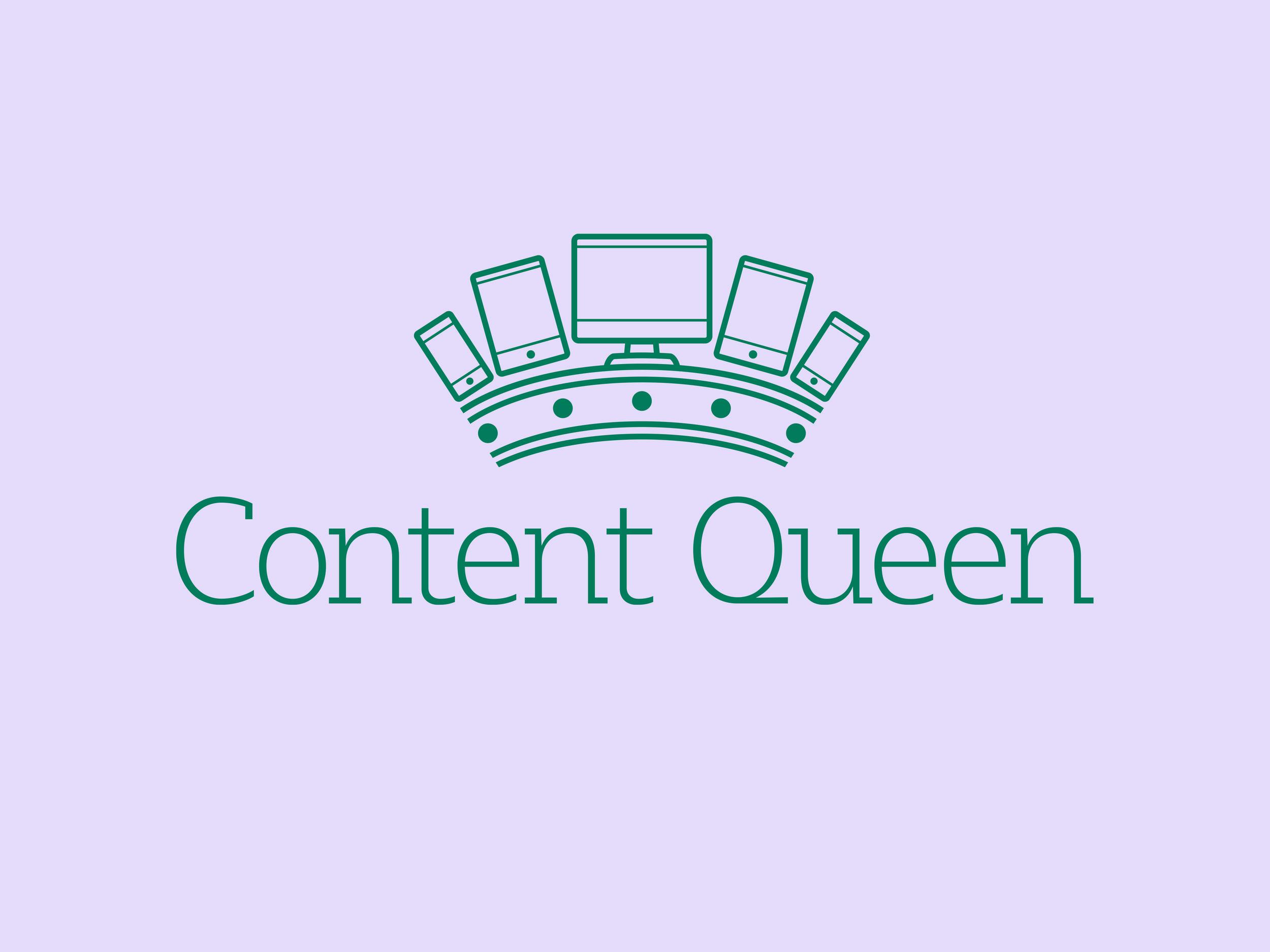 Content Queen Logo