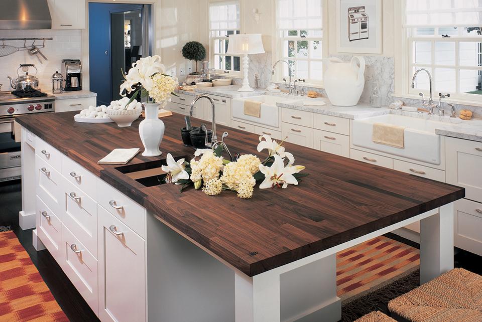 spekva wood kitchen island countertop