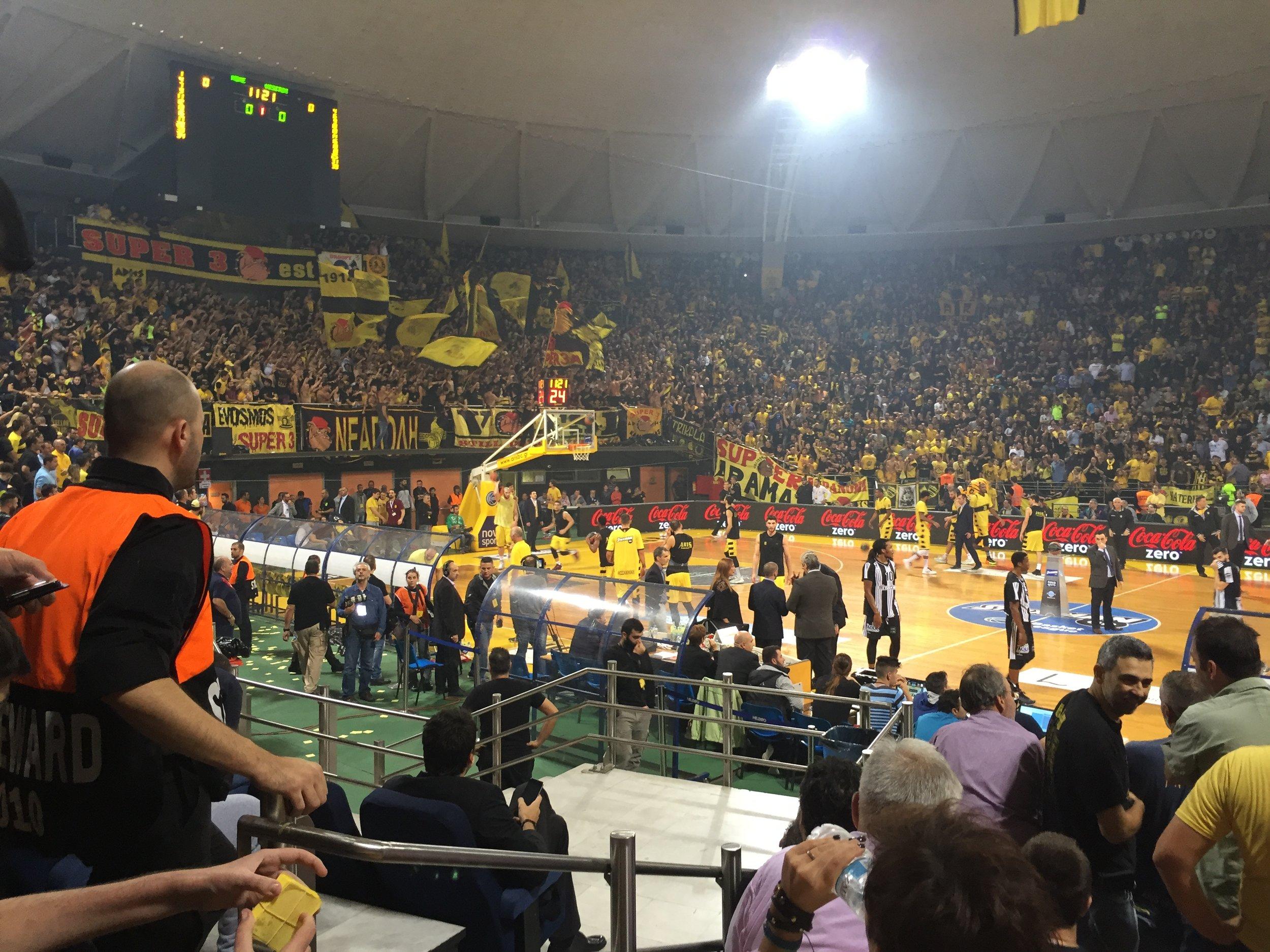 Thessaloniki Aris Basketball Nick Galis