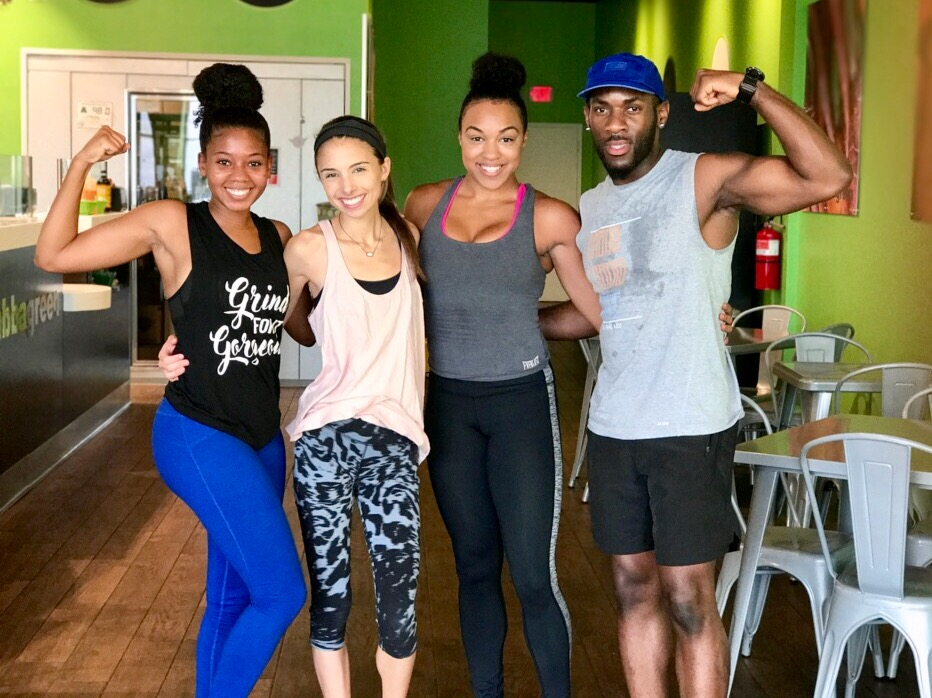 Fitness Lifestyle Blog Just Being Britt Brittany Jenkins Grabba Green Charlotte