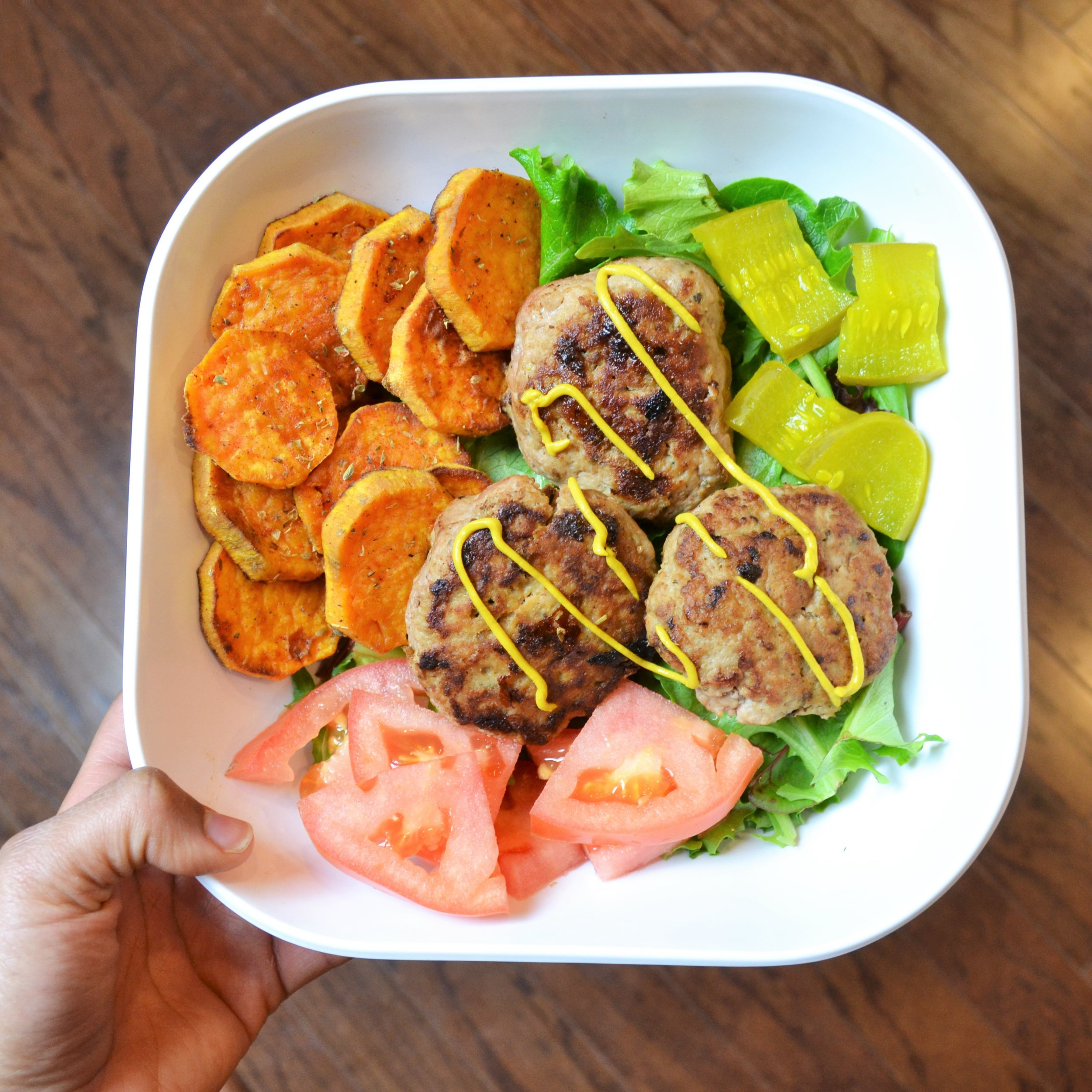 Fitness Lifestyle Blog Just Being Britt Brittany Jenkins Fitness Blog Influencer Turkey Burger Bowl