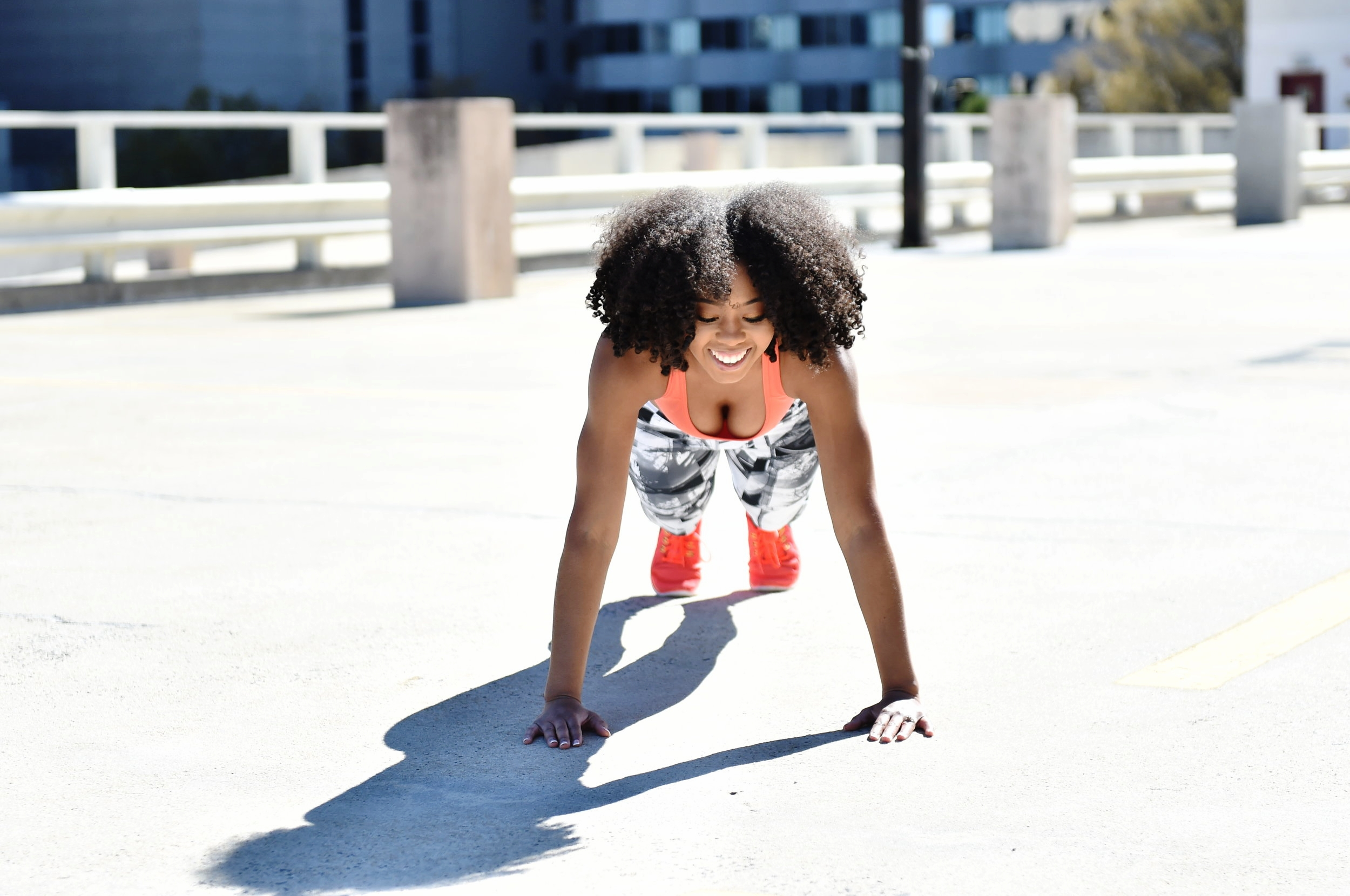 Just Being Britt Jenkins Fitness Lifestyle Beauty Blog CurlyFit Abs Plank Exercises