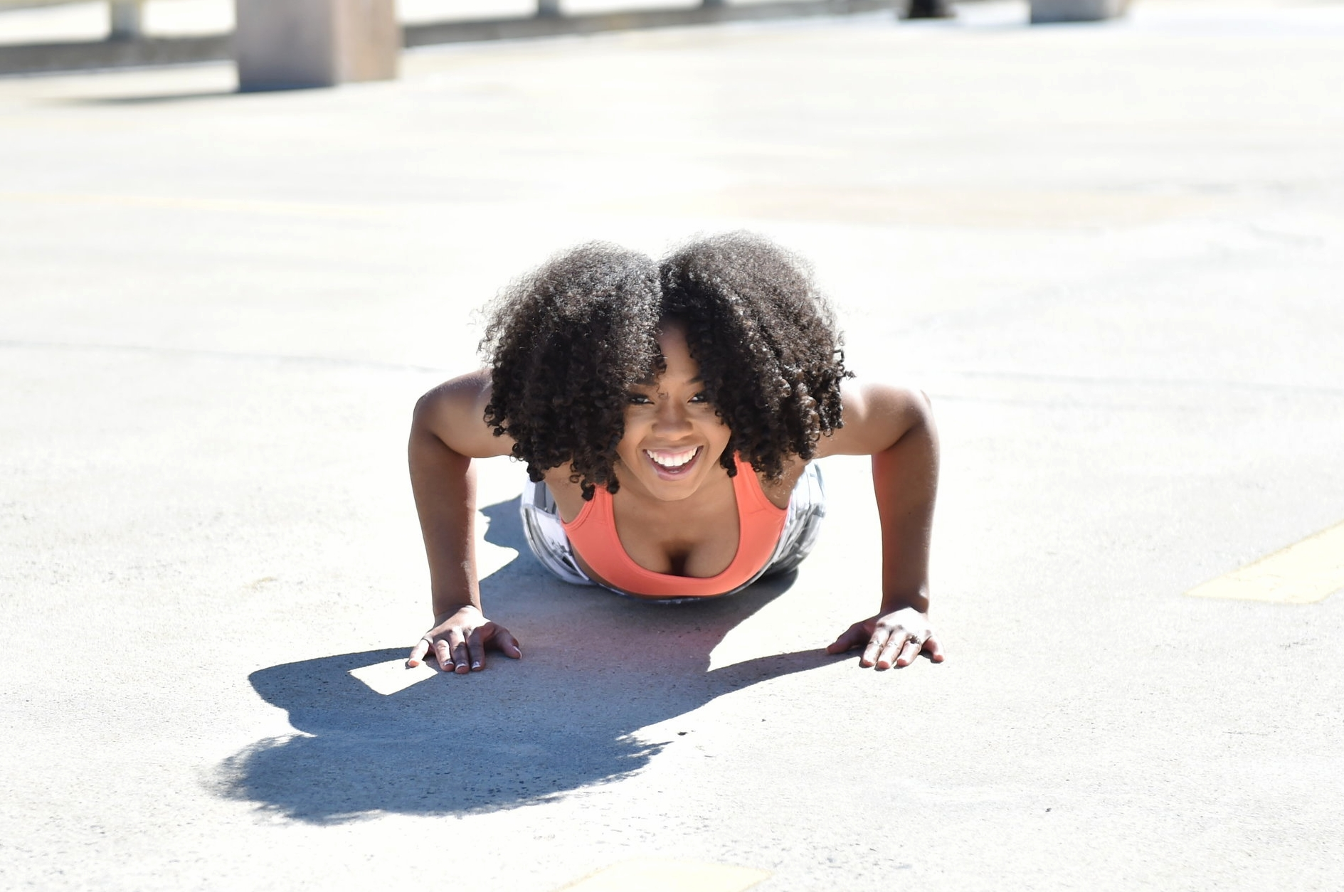 Just Being Britt Jenkins Fitness Lifestyle Beauty Blog Curly Fit Abs Plank Workout