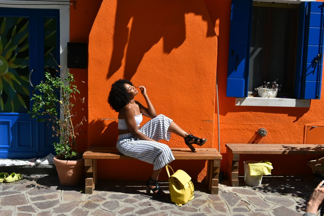 Just Being Britt Jenkins Fitness Lifestyle Travel Blog Spring Burano Italy Style Black Travel Bloggers Overseas Basketball Wife
