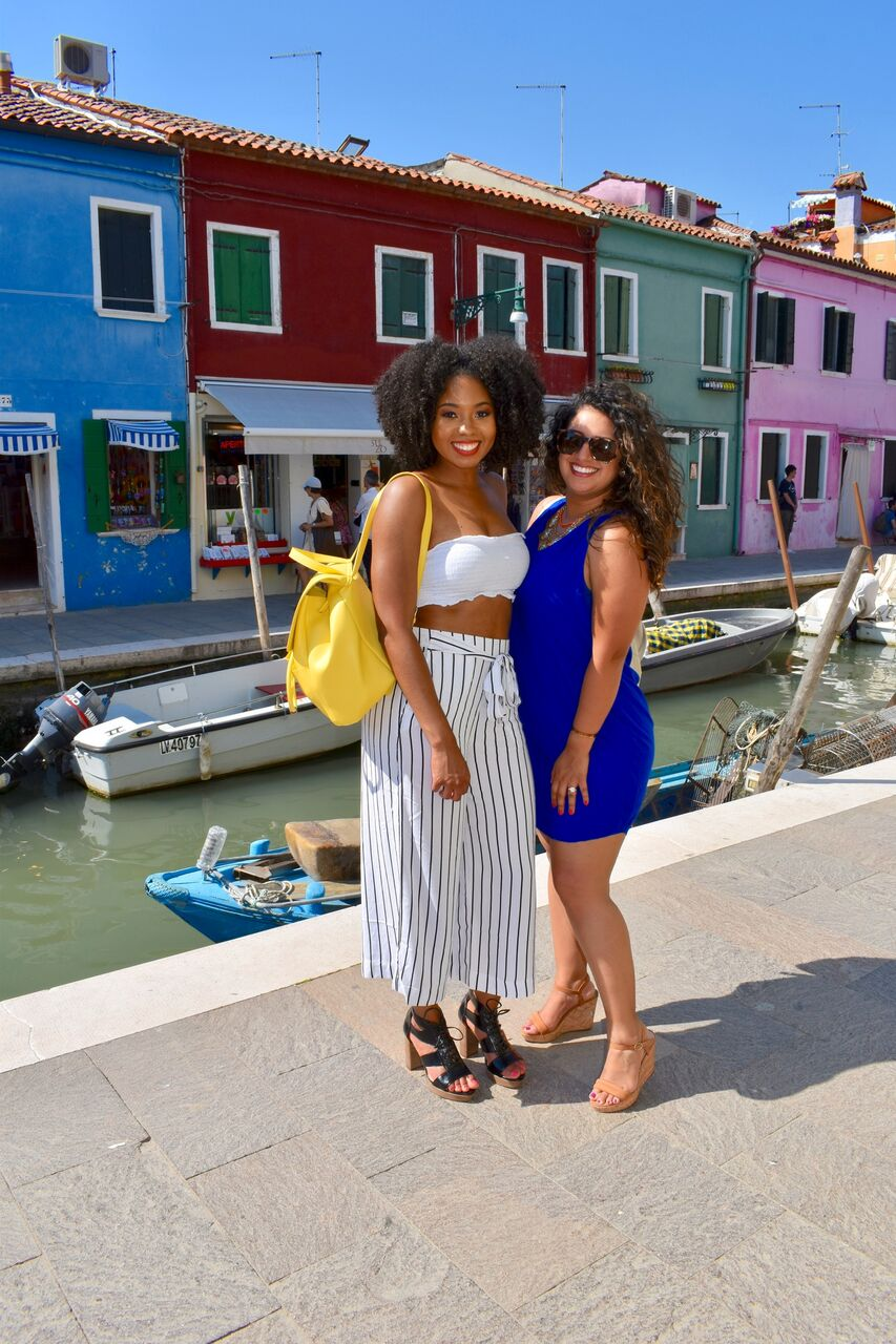 Just Being Britt Jenkins Fitness Lifestyle Travel Blog Spring Burano Italy Style Overseas BAsketball Wife